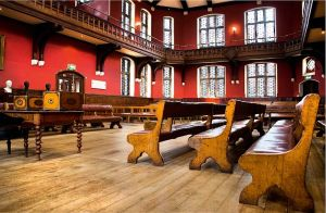 The Debating Chamber of the Oxford Union Society.