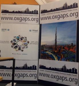 The OxGAPS stand at Freshers Fair.